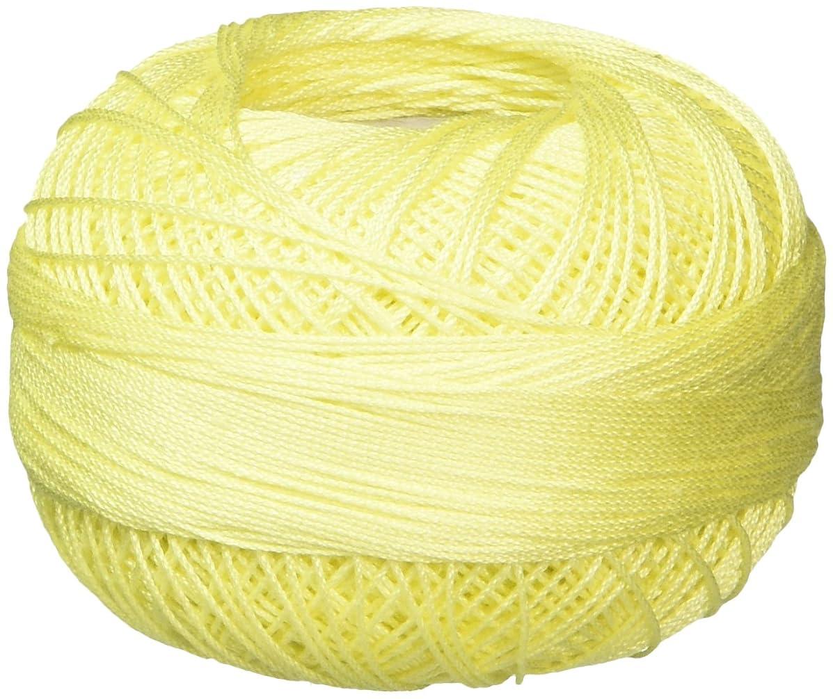 Handy Hands 210-Yard Lizbeth Cotton Thread, 25gm, Light Lemon