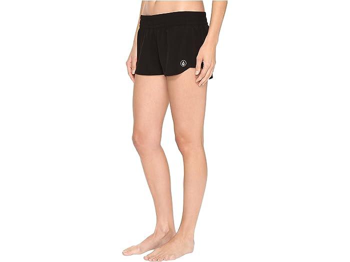 "Volcom Simply Solid 2"" Boardshorts Black Swimwear"