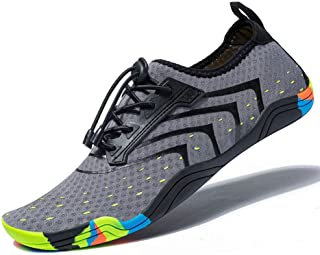 FEIFAN Women Men Unisex Lightweight Water Shoes Quick-Dry Barefoot Flexible Beach Swim Shoes