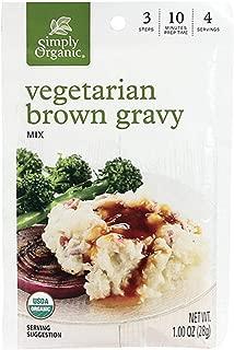 Simply Organic Brown Gravy Mix, Vegetarian, 1 Ounce