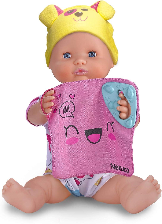 Nenuco Juguetón, muñeco Interactivo 5 Juegos (Famosa 700014356) , color/modelo surtido