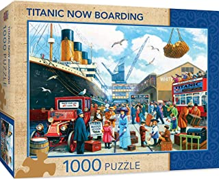 MasterPieces Titanic Series Puzzles Collection - Titanic Boarding 1000 Piece Jigsaw Puzzle