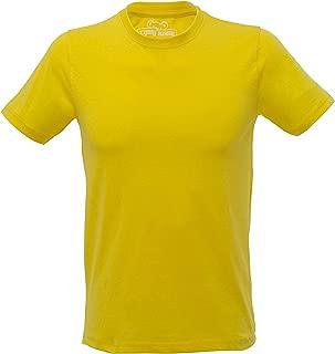 Tipsy Koala Men's Yellow Round Neck