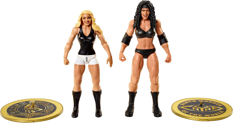 WWE Chyna vs Trish Stratus McIntyre Championship Showdown 2 Pack 6 in...