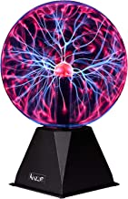 Katzco Plasma Ball - 7 Inch - Nebula, Thunder Lightning, Plug-in - for Parties, Decorations, Prop, Home