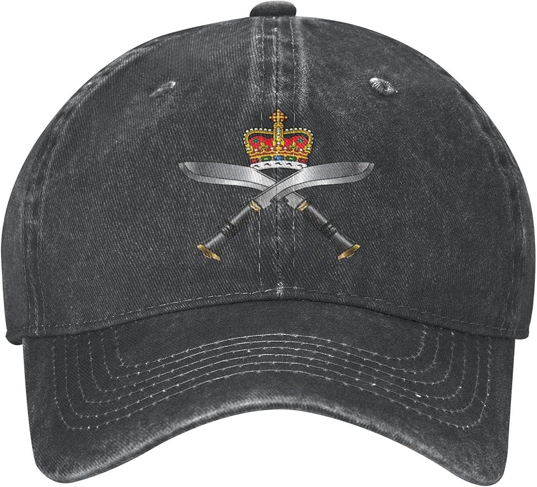 Guncore Royal Gurkha Rifles Cowboy Cap Original Fashion Retro Dad Baseball Hat Outdoor Travel(Unisex)