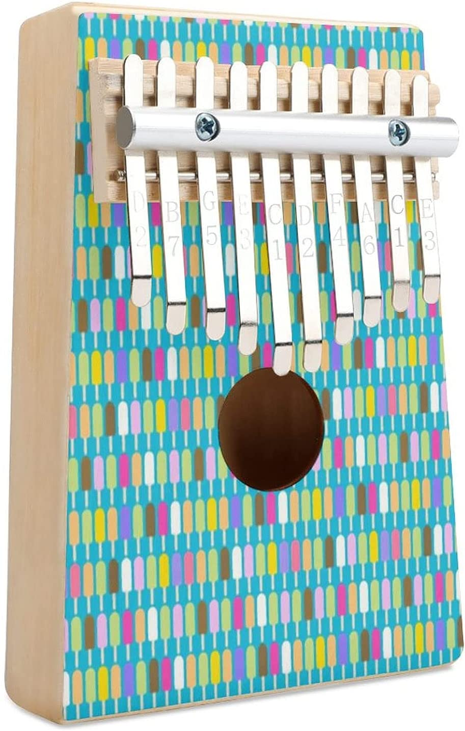 Very popular Pop Art Small New sales Popsicles Kalimba Thumb Piano 10 Finger Key