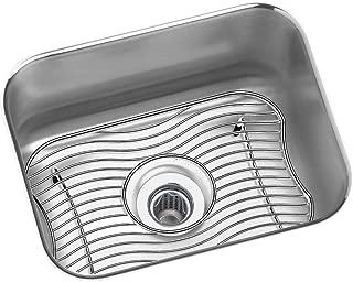 Elkay ELUH129DBG Lustertone Classic Single Bowl Undermount Stainless Steel Bar Sink Kit