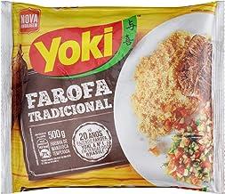 Yoki - Seasoned Cassava Flour - 17.6 Oz - Farofa De Mandioca Pronta Temperada - 500g