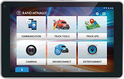 "Rand McNally OverDryve 8 Pro 8"" Truck GPS Tablet with Dash Cam and Bluetooth (Certified Refurbished)"