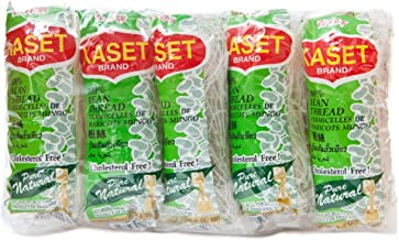 Kaset Bean Thread Glass Noodles 1.41 Oz (40 G) x 10 From Thailand BIG PACK