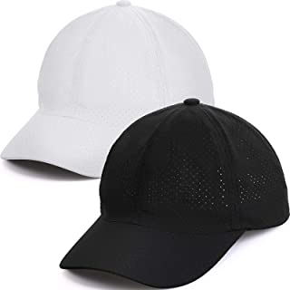 Geyoga Quick Dry Baseball Cap Mesh Sports Cap Workout Tennis Hat for Men Women Adults Kids Outdoor Sports