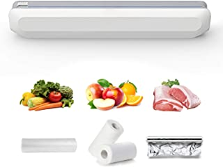 NEWANER Cling Film Cutter, Plastic Wrap Dispenser with Cutter, Plastic Wrap Slide Cutter, Food Wrap Dispenser, Refillable ...
