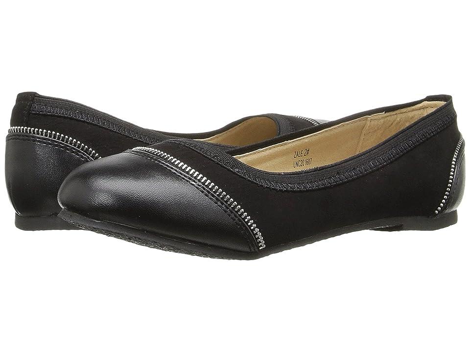 W6YZ Zale (Little Kid/Big Kid) (Black) Girls Shoes