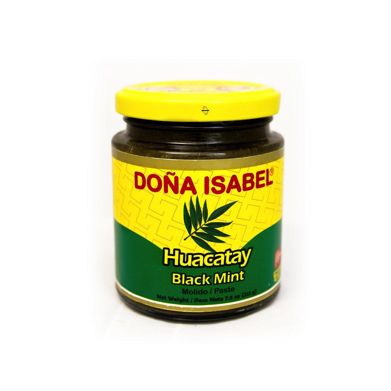 Doña Isabel Huacatay Molido (Black Mint Paste) 7.5oz Single B