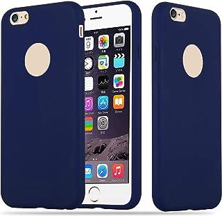 cbd1b89171e Cadorabo Funda para Apple iPhone 6 Plus/iPhone 6S Plus en Candy Azul Oscuro  –