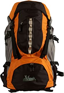 Victory Outdoors Cross Country 60-Liter Backpack, Orange