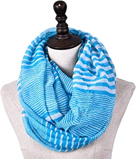 Scarf for Women Lightweight Fashion Fall Winter Shawl Wraps Scarves (Color : Light blue, Size : Onesize)