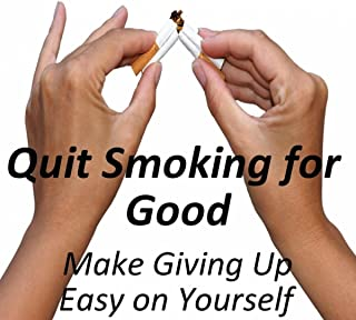 Stop Smoking, Make Giving Up Easy on Yourself Hypnotherapy MP3 using the latest NLP techniques and Specialised Subliminal Music for fast real results.