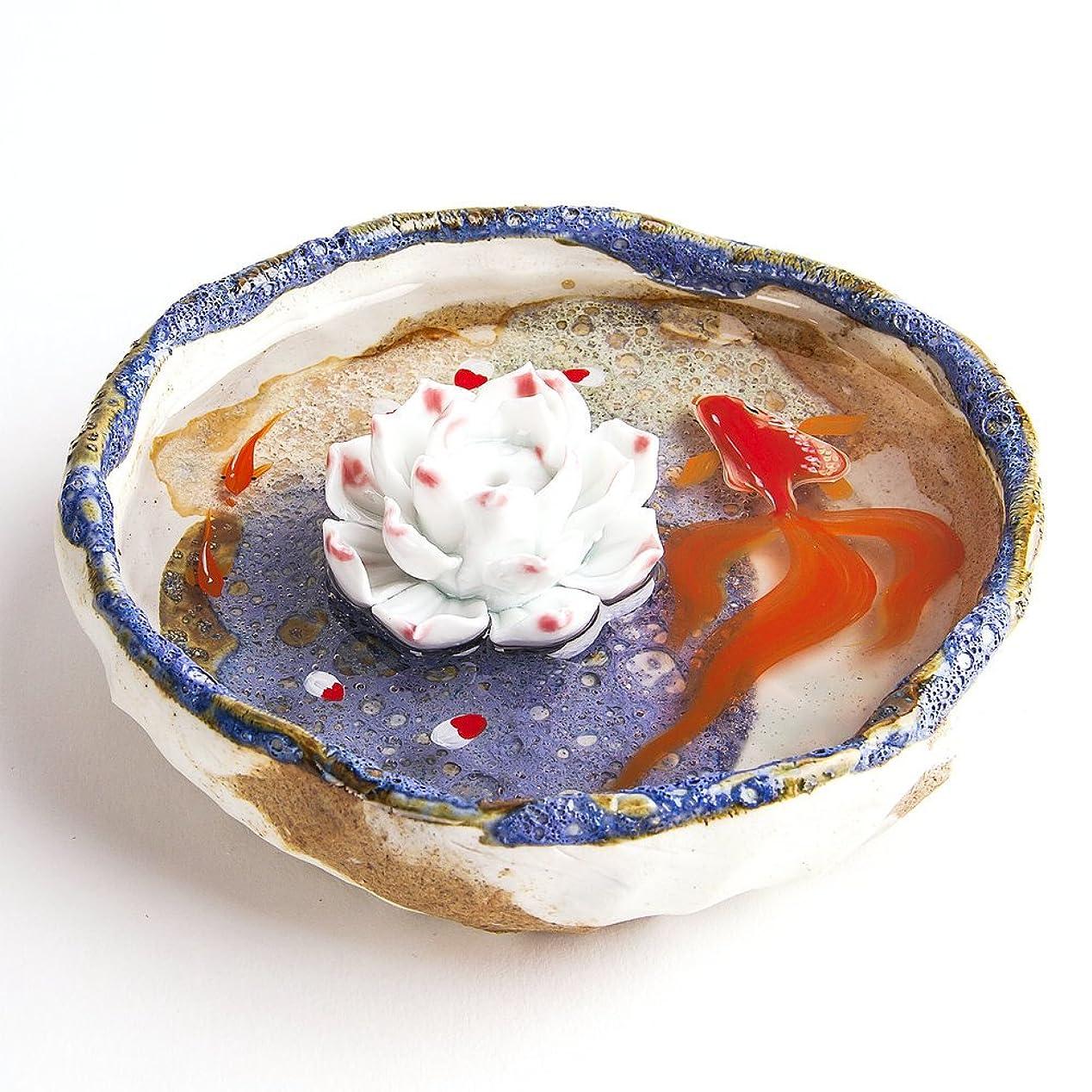 年批判正義お香立て お香たて 香の器 お香を焚いて 香皿,陶磁器、ブルー