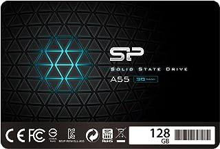 シリコンパワー SSD 128GB 3D TLC NAND採用 SATA3 6Gb/s 2.5インチ 7mm 3年保証 A55シリーズ SP128GBSS3A55S25