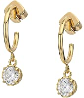 Kate Spade New York - That Sparkle Mini Round Huggies Earrings