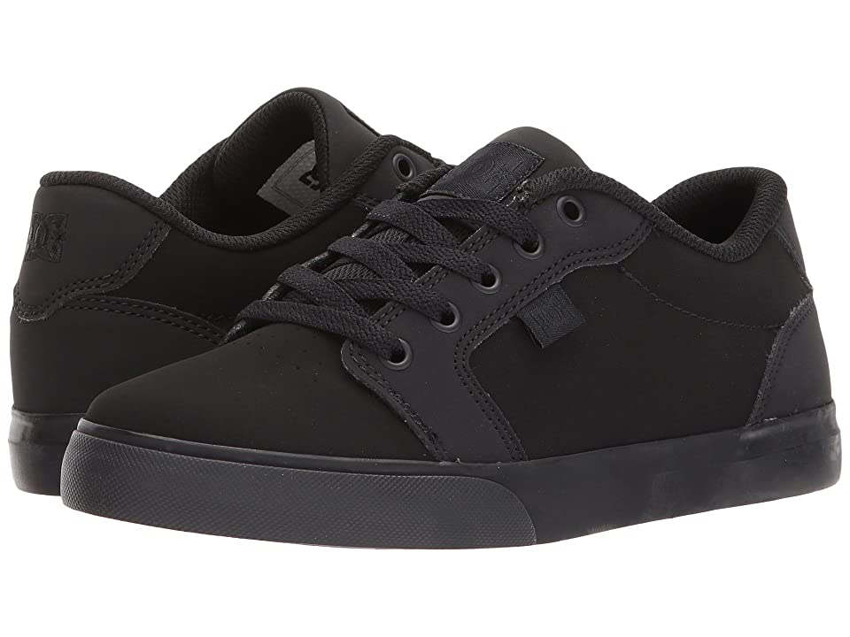 DC Kids Anvil (Little Kid/Big Kid) (Black/Black) Boys Shoes