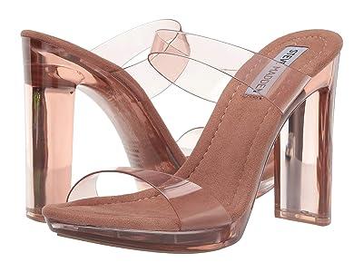 Steve Madden Glassy Heeled Sandal (Tan) Women