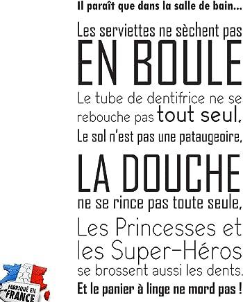 Amazon.fr : stickers salle de bain : Cuisine & Maison