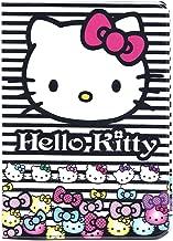 Hello Kitty Black White Stripes Passport Cover ~ Sanrio