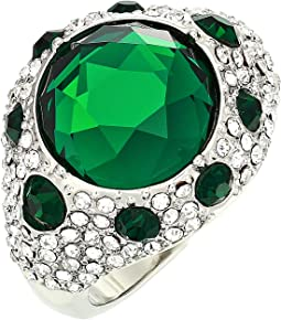 Rhodium/Crystal/Emerald