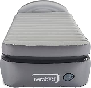 AeroBed Air Mattress with Built-in Pump & Headboard | Comfort Lock Laminated Air Bed