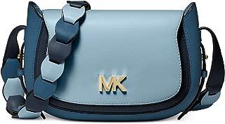 NEW AUTHENTIC MICHAEL KORS JOLENE MESSENGER SMALL CROSSBODY LEATHER BAG (Admirl Multi)
