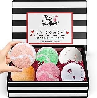 Bath Bombs Gift Set - Luxury Organic Bath Bombs For Girls and Women - Vegan Natural Gift Sets – US Made - La Bomba Set