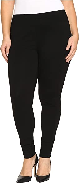 HUE - Plus Size Ponte Leggings