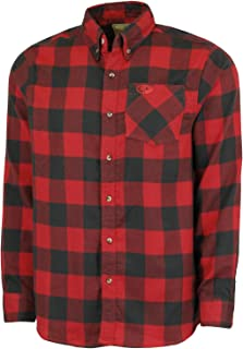 Heavy Flannel Shirt for Men, Thermal Lined Plaid Mens Flannel Shirts