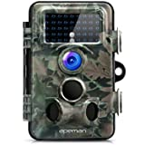 APEMAN Trail Camera 12MP 1080P HD Game&Hunting Camera with 130° Wide Angle Lens 120° Detection 42 Pcs 940nm Updated IR LEDs Night Version up to 20M/65FT ...