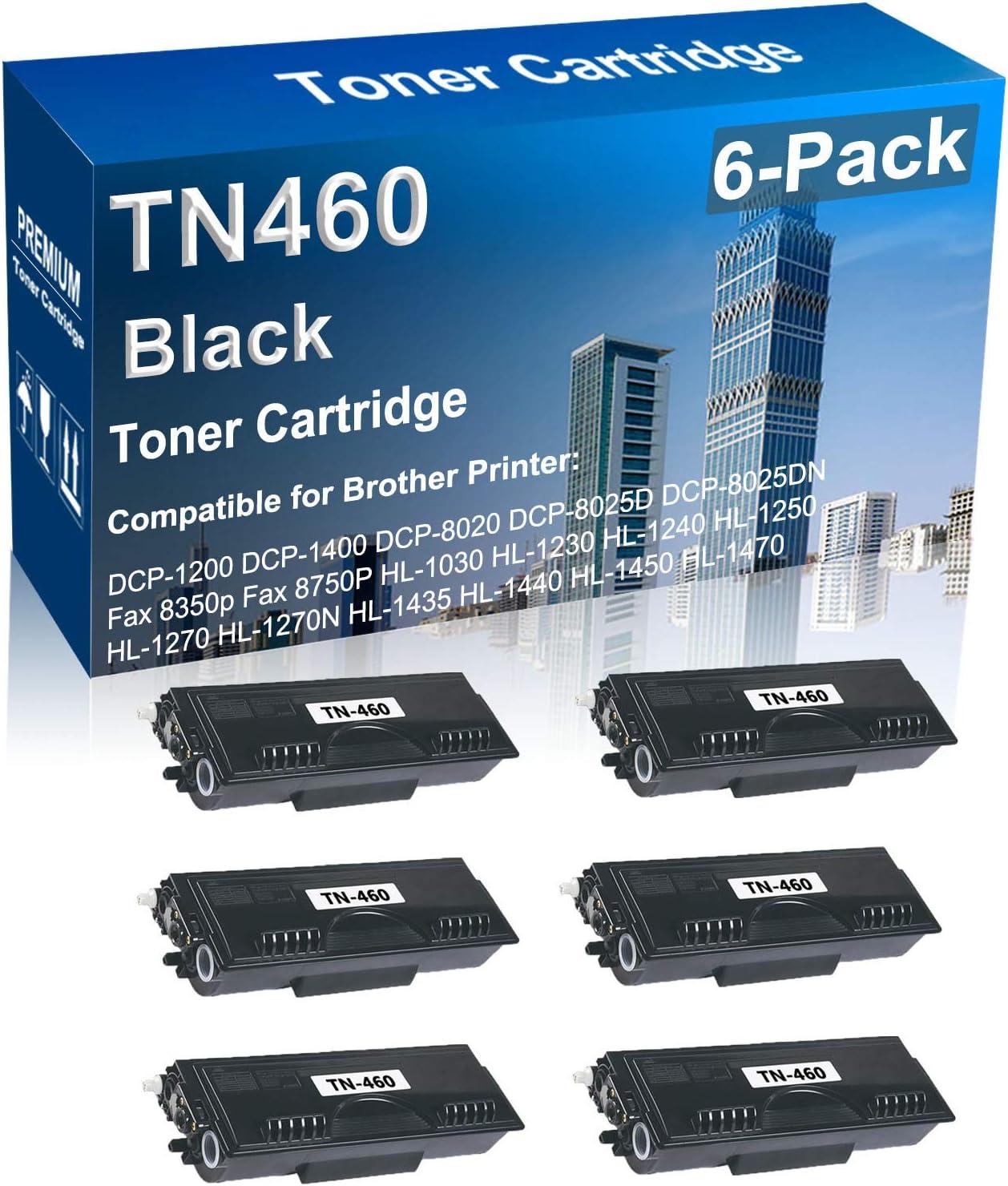 6-Pack Compatible High Yield TN460 Ranking TOP9 Fashionable Ca Laser TN-460 Toner Printer