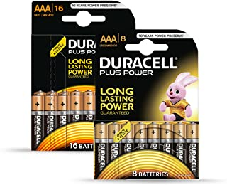 Duracell Battery Plus AAA Plus 8Free Special Pack Of 16