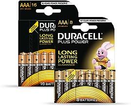 Duracell Batterie Plus Micro AAA 16er + 8 gratis Sonderpack