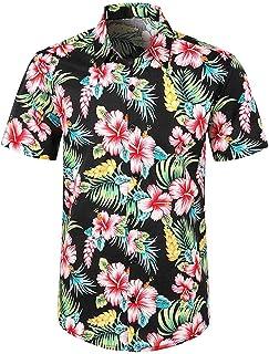 Sylar Camisa Hawaiana para Hombre 3D Estampado de Sandía Camisetas Manga Corta Camisas de Playa Playera T-Shirt