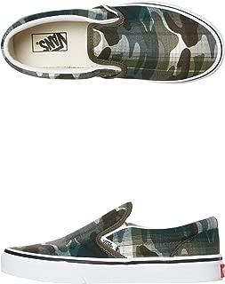 Vans Boys Classic Slip On Shoe - Teens Rubber Canvas