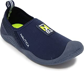 Nautica Kids Youth Athletic Water Shoes | Aqua Socks| Slip-on Sandals