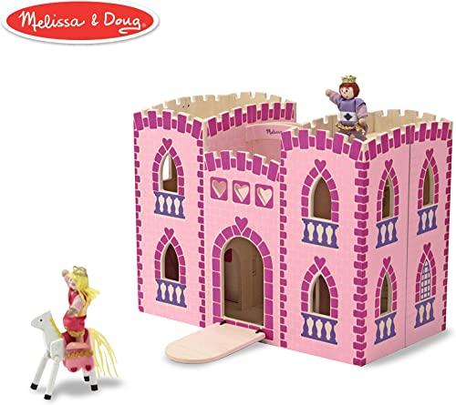 Melissa & Doug Fold & Go Prinzessinnen Burg