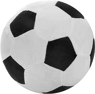 T PLAY Soccer Plush Fluffy Plush Soccer Ball Pillow Soft Durable Stuffed Soccer Ball Toy Safe Soft Soccerball Indoors Toys Gift for Kids Boy Infants Toddler Baby 8