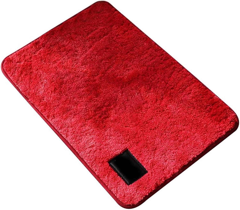 Door Mat, Ink Style, Dirty Floor Mat, Bathroom, Absorbent Mat, Toilet Mat, Bedroom Carpet (color   E, Size   80  120)