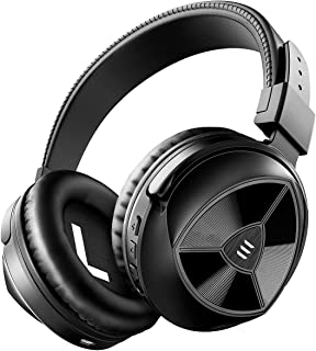 EKSA E1 ヘッドホン Bluetooth 5.0 SuperEQ 低音強化 ワイヤレスヘッドホン 密閉型 折りたたみ式 マイク付き AAC対応 オーバーイヤー ヘッドフォン 有線 無線