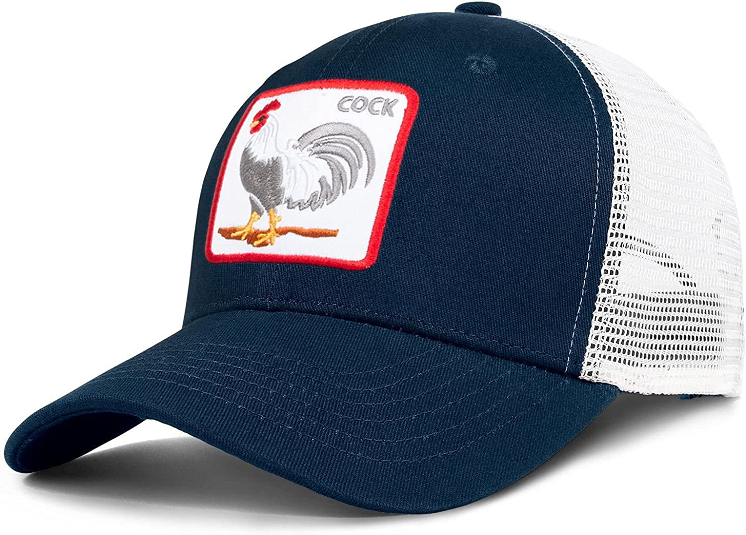 Animal Farm Hats -Mesh Trucker for Men Snap Women Wholesale - Bac Quantity limited and