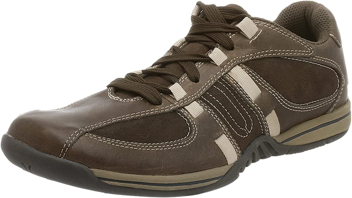 Kenneth Cole Unlisted Men's Press Box Oxford,Brown/Chocolate,11 M