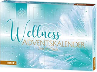 Roth 80280 Advent Calendar Time for You, 24 Wellness Items, Approx. 50 x 35 x 4 cm, Colourful